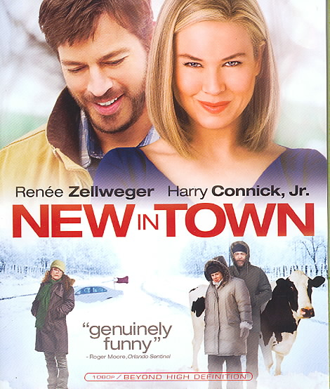 NEW IN TOWN BY ZELLWEGER,RENEE (Blu-Ray)